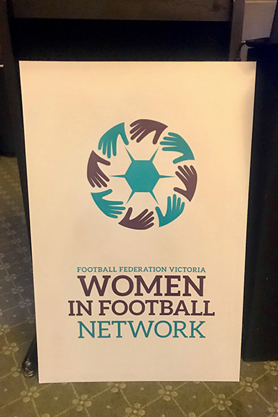 Kick 4 Life - Women in Football Network WIFN Football Victorias Administration Leadership Program 2018