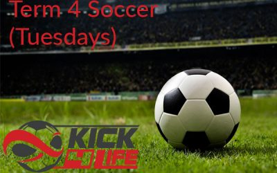 Term 4 soccer @ South Yarra SC (Tuesdays)