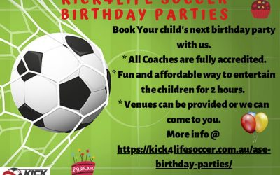 K4L Birthday Parties! Enquire now!
