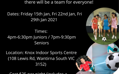 Knox Indoor Social Nights – January 2021